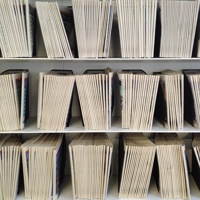 Print is not dead. #stacks #collecting #print #notdead #nyc #joefornabaio #joefornabaiotookthispicture