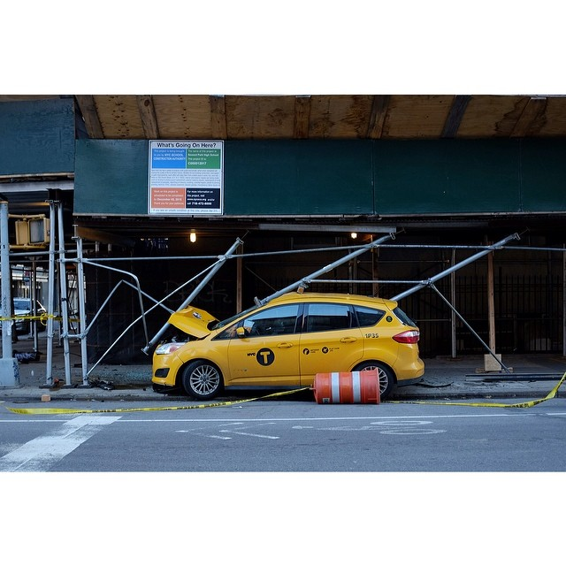 Morning commute.#morningcommute #taxi #nyc #les  #joefornabaio