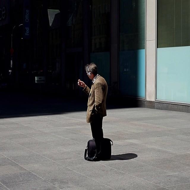 Sun and a cigarette.#sun #cigarette #nyc #midtown #joefornabaio