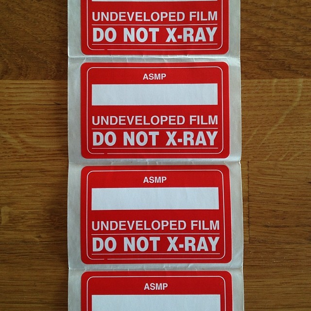 Holding onto these stickers for old times sake. But if someone actually needs them I'll trade a print for them.#film #donotxray #nyc #analog #stickers #joefornabaio