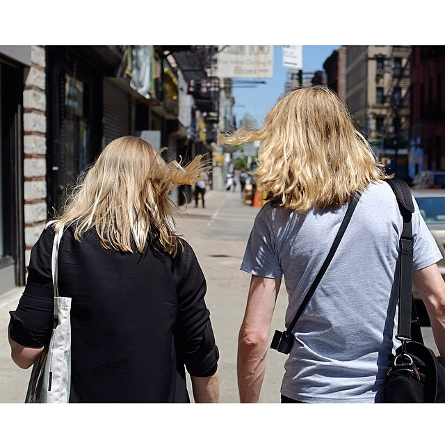 Like mother, like son.Happy belated Mother's Day!#mothersday #nyc #les #joefornabaio #photooftheday #reportage #newyorkcity #picoftheday