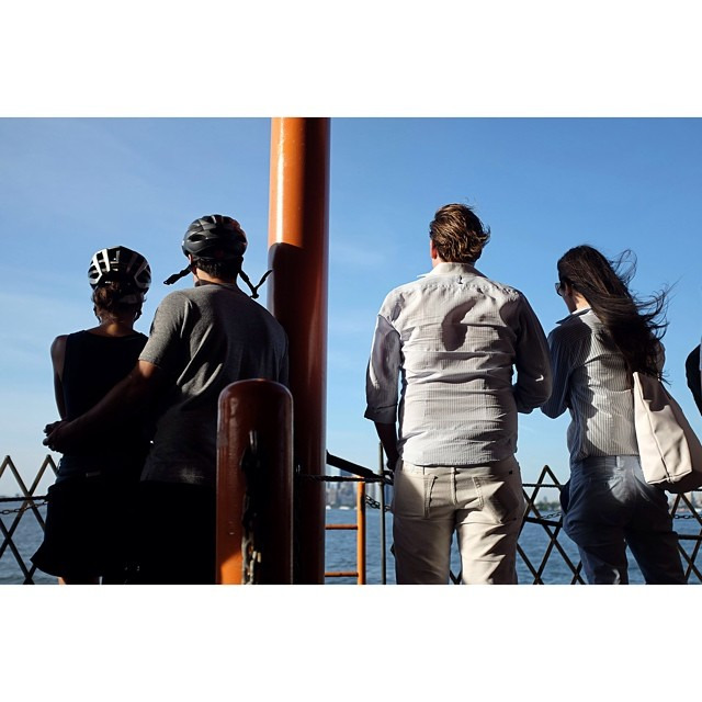 Couples, ferrying.#couples #pairs #statenislandferry #nyc #joefornabaio