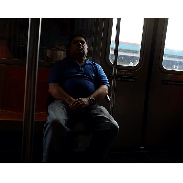 Mood right now, crashing.#sleep #train #subway #crashinghard #crashing #brooklyn #nyc #joefornabaio