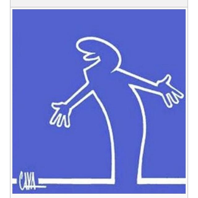 Remembering La Linea by Osvaldo Cavandoli. As a kid I remember thinking what a great concept it was.#lalinea #cava #osvaldocavandoli #cartoon