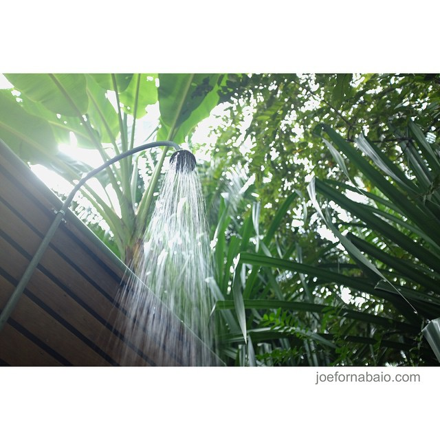I think this speaks for itself.#outdoorshower #outdoor #shower #joefornabaio #costarica #vacation #surf #surfing