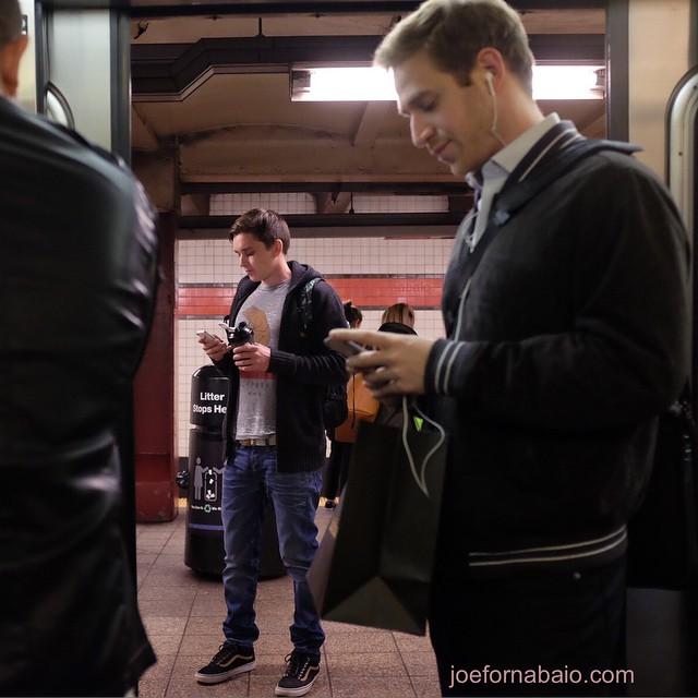 Evening commute.#nyc #subway #joefornabaio #eveningcommute
