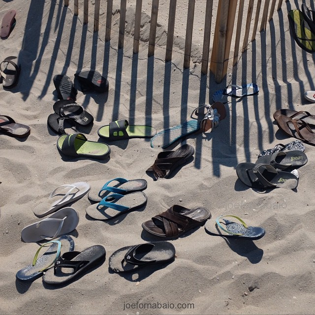 Summer lovin', had me a blast.#summer #joefornabaio #vacation #flipflops #beach #sand #lovin #blast