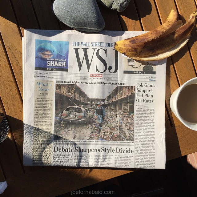 Sun rising on a new Saturday.#wsj #wsjoffduty #joefornabaio #nyc #frontpage #yourmomentofzen #wsjreview #balconylife #lowereastside #afghanistan