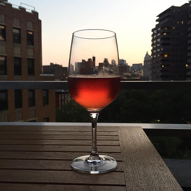 Until next summer rosé.#rosé #joefornabaio #nyc #lowereastside #les #wine #balconylife #summer