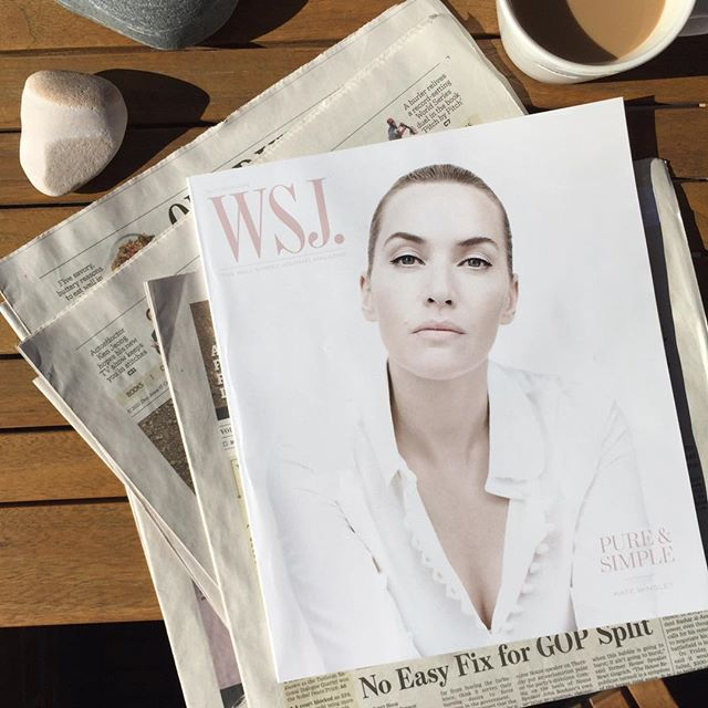Perfect.#wsjmagazine #printisnotdead #nyc #balconylife #coffee #wsj #magazine