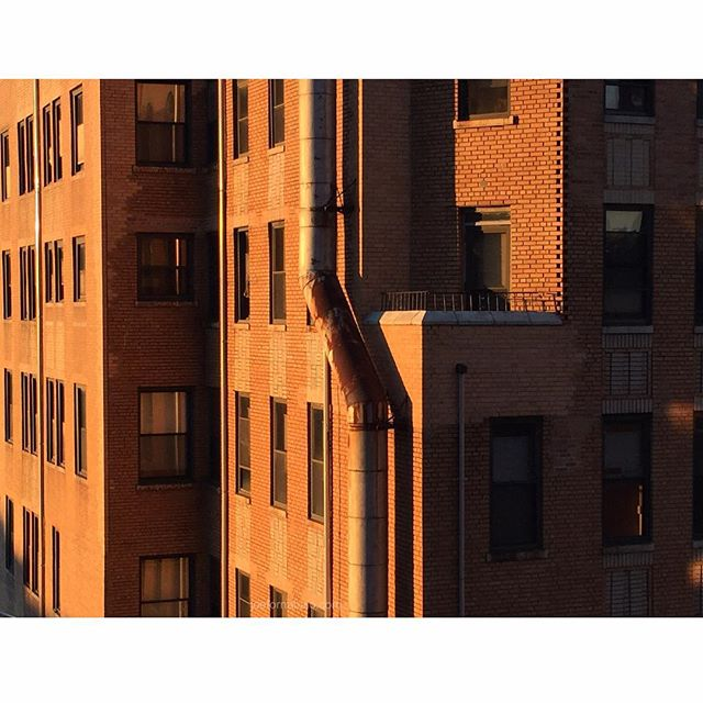 This city.#sunrise #joefornabaio #morning #bricks #nyc #lowereastside #les