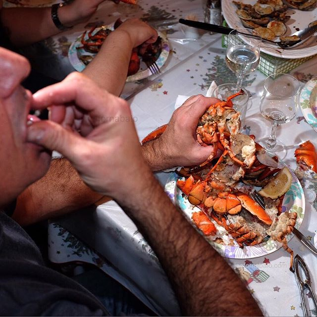 Lobster, it's officially a holiday.#christmas #dinner #joefornabaio #lobster #nyc #italian