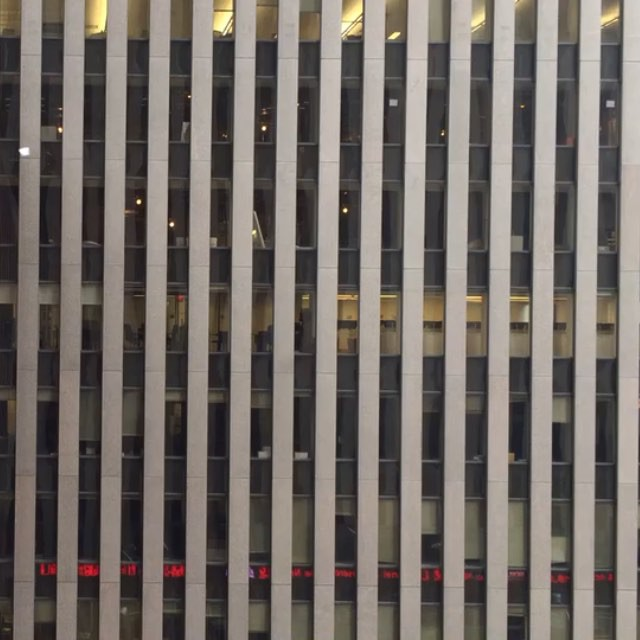 Nothing changes on New Year's Day.#newyearsday #nyc #joefornabaio #officebuilding #midtown