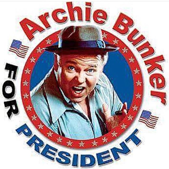 Enough with all those meatheads. Vote for a real New Yorker.#vote #nyc #lowereastside #archiebunker #newyorker #joefornabaio