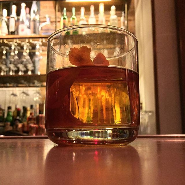 Old Fashion for Friday night.Cheers.#oldfashion #drink #joefornabaio #nyc #friday #cheers #cocktails